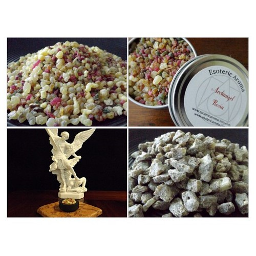 Archangel Resin Incense @esotericaroma  #socialselling #PromoteStore #PictureVideo @SharePicVideo