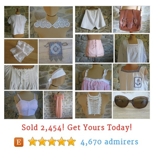 Clothes and lingerie Etsy shop #etsy @histoiresonetsy  #etsy #PromoteEtsy #PictureVideo @SharePicVideo
