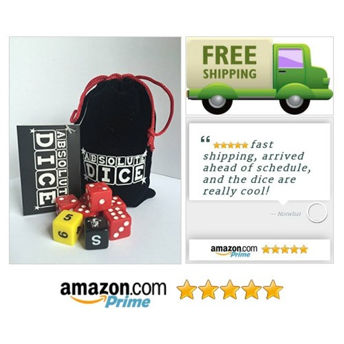 Absolute Dice Original, the Ultimate Dice Game A fun fast paced game of luck Can be played anywhere by anybody #socialselling #PromoteStore #PictureVideo @SharePicVideo