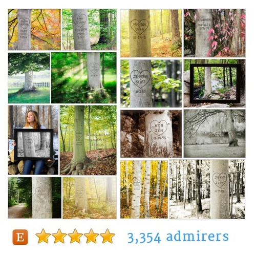 Carved Tree Prints #etsy shop #carvedtreeprint @picturepersonal  #etsy #PromoteEtsy #PictureVideo @SharePicVideo