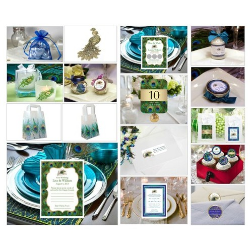 Peacock Wedding Collection #shopify @lmkgifts  #shopify #PromoteStore #PictureVideo @SharePicVideo