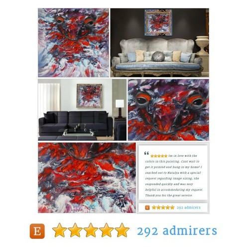Digital Print Breathing salamander in abstract style Printout #etsy @eseniya2011  #etsy #PromoteEtsy #PictureVideo @SharePicVideo