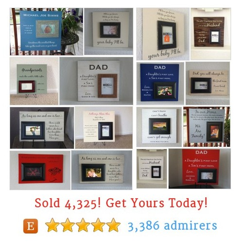 Picture Frame Plaque Etsy shop #pictureframeplaque #etsy @frameyourstory  #etsy #PromoteEtsy #PictureVideo @SharePicVideo