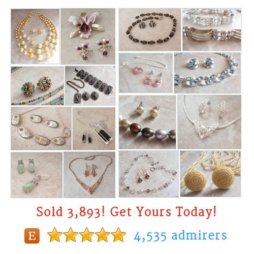 Vintage Jewelry Sets Etsy shop #etsy @deniboardman  #etsy #PromoteEtsy #PictureVideo @SharePicVideo