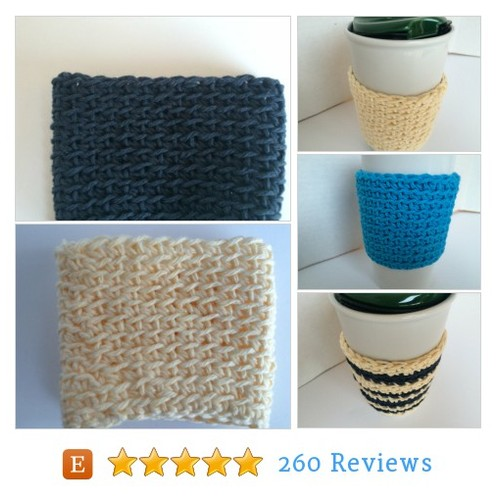 Choose Your Color Cup Cozy Cup Sleeve, #etsy @crochetknitmix  #etsy #PromoteEtsy #PictureVideo @SharePicVideo
