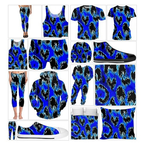 Lighting Blue Ice Storm Leggings #socialselling #PromoteStore #PictureVideo @SharePicVideo