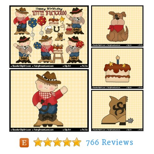 Cowboy Birthday Digital Clip Art - #etsy @todreamland  #etsy #PromoteEtsy #PictureVideo @SharePicVideo