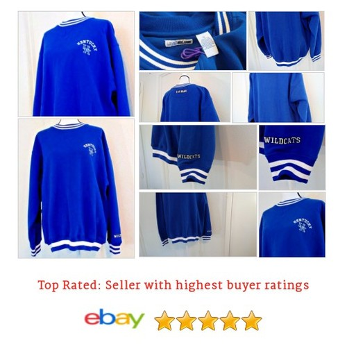 University of Kentucky Sweatshirt Size XL Wildcats Live Blue | eBay #LiveBlue #Souvenir #FanApparel #etsy #PromoteEbay #PictureVideo @SharePicVideo