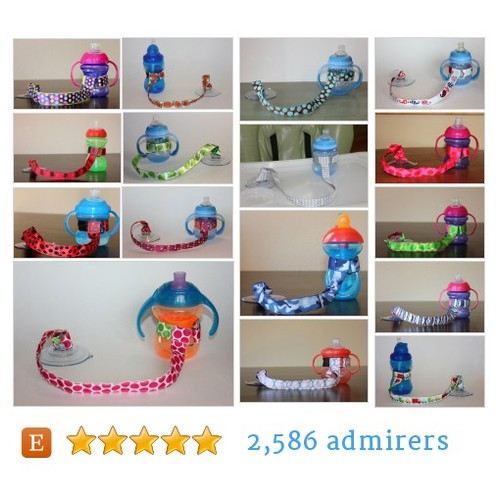 Baby's Sippy Cup Strap & Accessory Shop by @chunksbabyjunk Etsy shop  #etsy #PromoteEtsy #PictureVideo @SharePicVideo