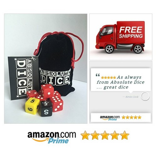 Absolute Dice Original: Toys & Games Absolute Dice Original, the Ultimate Dice Game A fun fast paced game of luck #socialselling #PromoteStore #PictureVideo @SharePicVideo