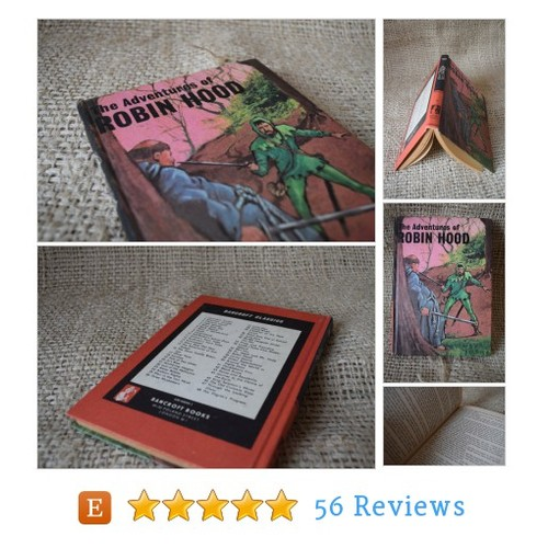 The Adventures of Robin Hood. A BAncroft #etsy @bookbugsuk  #etsy #PromoteEtsy #PictureVideo @SharePicVideo