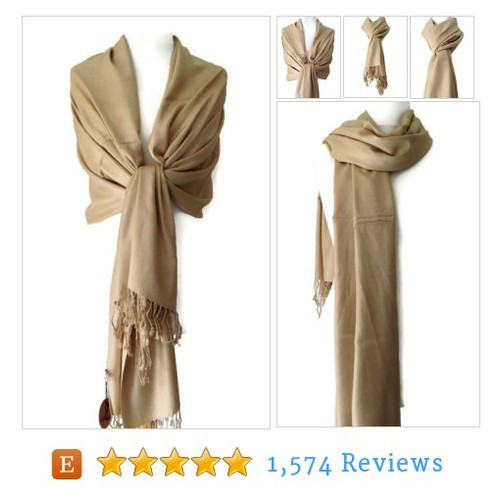 Pack of 6 Beige Pashmina , Taupe Scarf Wrap #etsy @purplepossumuk  #etsy #PromoteEtsy #PictureVideo @SharePicVideo