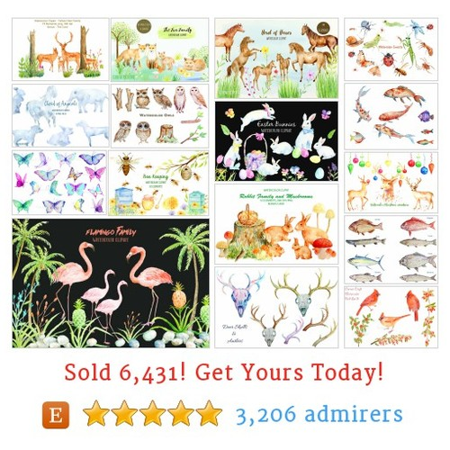 Animal Clipart Etsy shop #animalclipart #etsy @chengjing69157  #etsy #PromoteEtsy #PictureVideo @SharePicVideo