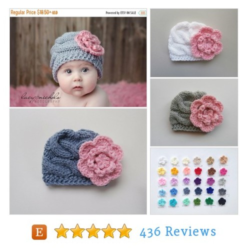 ON SALE 10% SALE Baby Girl Hat ,Knit Baby #etsy @albenaben  #etsy #PromoteEtsy #PictureVideo @SharePicVideo