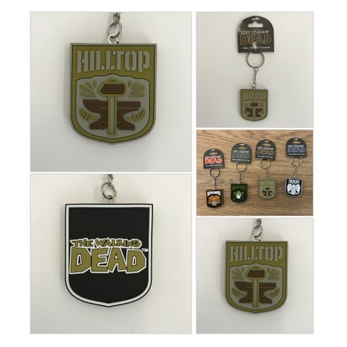 "THE WALKING DEAD ""Hilltop"" Faction Keychain @skybound  #shopify #PromoteStore #PictureVideo @SharePicVideo"