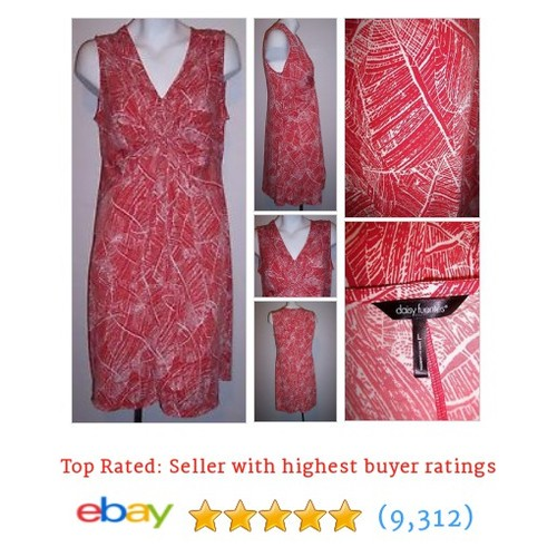 Daisy Fuentes Dress  #ebay @happyhippyshack #sellonebay  #etsy #PromoteEbay #PictureVideo @SharePicVideo