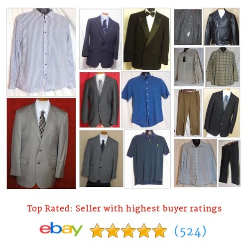 Men's Clothing Items in Nick's Haberdashery store #ebay @thehaberdasher6  #ebay #PromoteEbay #PictureVideo @SharePicVideo