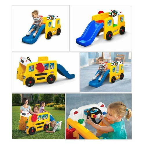 Amazon.com: Little Tikes School Bus Activity Gym: Toys & Games #socialselling #PromoteStore #PictureVideo @SharePicVideo