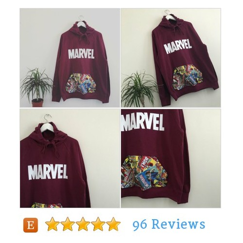 Unisex Custom Cut & Sew marvel superheroes comics hoodie #etsy @sab_apparel #shopify  #etsy #PromoteEtsy #PictureVideo @SharePicVideo