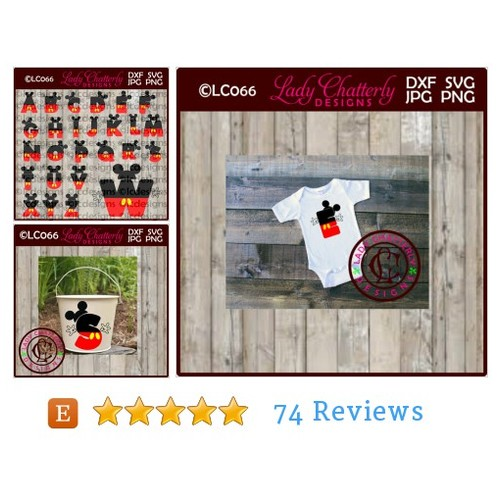 LC066 - Mouse Ears Alphabet Design #tool #etsy @debodel  #etsy #PromoteEtsy #PictureVideo @SharePicVideo