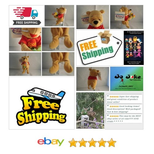 DISNEY STORE-WINNIE THE FLOWER POOH-BEAN PLUSH-8 INCH-HOLDING FLOWERS-NEW/TAGS!! | eBay #Disneystoreexclusive #etsy #PromoteEbay #PictureVideo @SharePicVideo