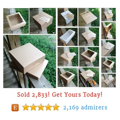 Bakery Boxes - 100 Each Etsy shop #etsy @thebakersbin  #etsy #PromoteEtsy #PictureVideo @SharePicVideo
