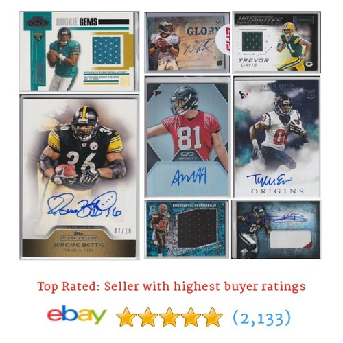 FOOTBALL Items in Ironman8Cards store #ebay @ironman8cards  #ebay #PromoteEbay #PictureVideo @SharePicVideo