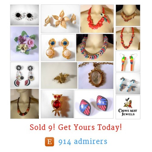 Vintage Jewelry Etsy shop #etsy @labelladiva  #etsy #PromoteEtsy #PictureVideo @SharePicVideo