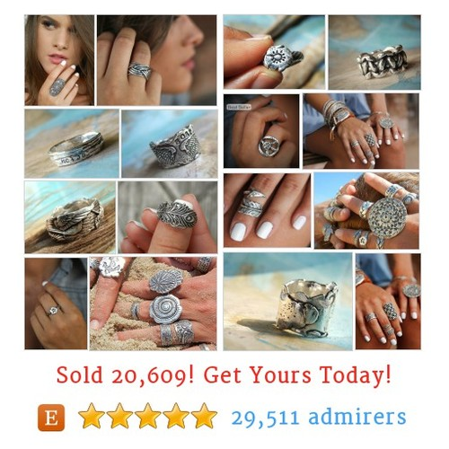 Silver Rings Etsy shop #silverring #etsy @byhappygolicky  #etsy #PromoteEtsy #PictureVideo @SharePicVideo