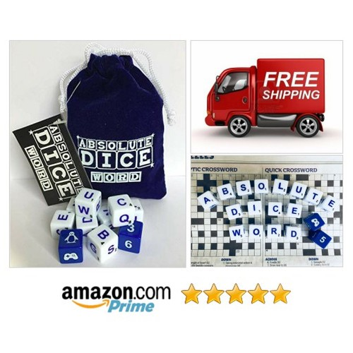 Absolute Dice Word: Toys & Games The Word version of Absolute Dice Have fun !!! #socialselling #PromoteStore #PictureVideo @SharePicVideo