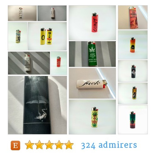 Funny Lighters #etsy shop #funnylighter @izausomecreatns  #etsy #PromoteEtsy #PictureVideo @SharePicVideo