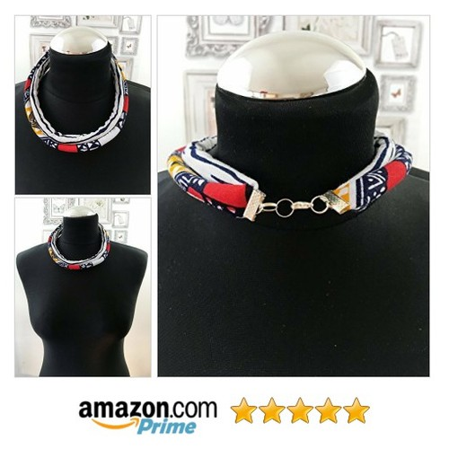 Stylish Women African Necklace Eye-catching @royalheadwraps https://www.SharePicVideo.com/?ref=PostPicVideoToTwitter-royalheadwraps #socialselling #PromoteStore #PictureVideo @SharePicVideo