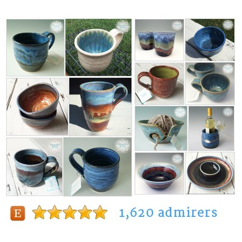 Mugs Cups Mugs & Cups from Bungalow Studio Pottery  BungalowSPC Etsy shop #etsy #PromoteEtsy #PictureVideo @SharePicVideo