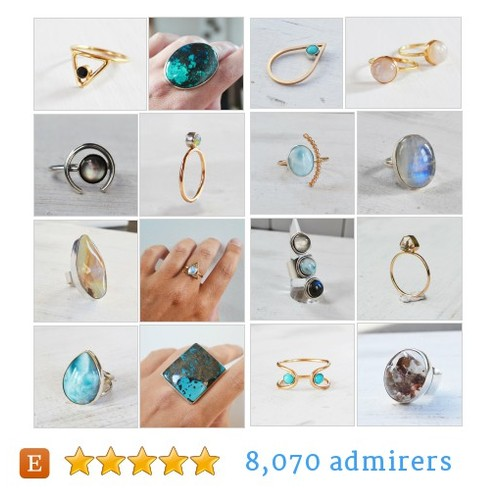 GEMSTONE RINGS #etsy shop #gemstonering @glamrocksdesign  #etsy #PromoteEtsy #PictureVideo @SharePicVideo