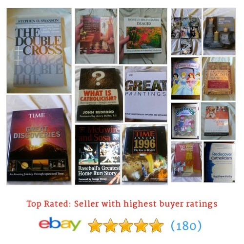 Books Items in Marie's Online Bazaar store on eBay! #book #ebay @mariesbazaar1  #ebay #PromoteEbay #PictureVideo @SharePicVideo