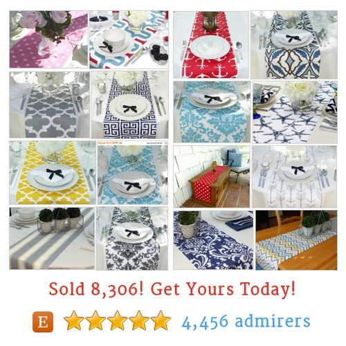 Table Runners Etsy shop #tablerunner #etsy @preppyowlboutiq  #etsy #PromoteEtsy #PictureVideo @SharePicVideo