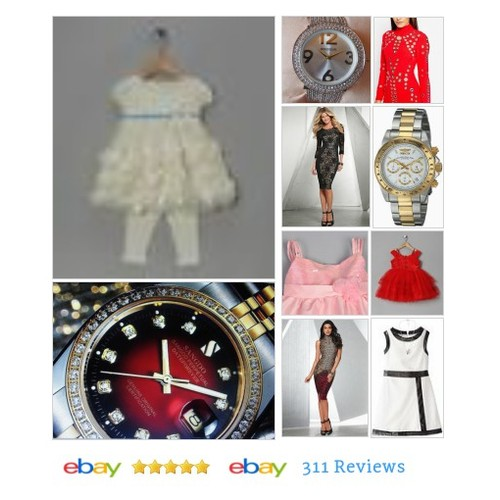 Infant dresses, women dresses, prom, wedding, watches in J.Merchandise Spot store on eBay! #ebay #PromoteEbay #PictureVideo @SharePicVideo