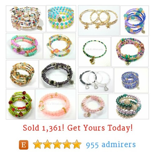 Beaded Coil Bracelets Etsy shop #etsy @rrwristcandy https://www.SharePicVideo.com/?ref=PostPicVideoToTwitter-rrwristcandy #etsy #PromoteEtsy #PictureVideo @SharePicVideo