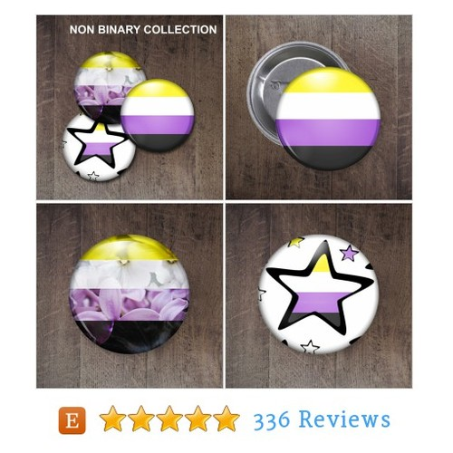Non binary Pride Buttons #etsy @ellenkay_design  #etsy #PromoteEtsy #PictureVideo @SharePicVideo