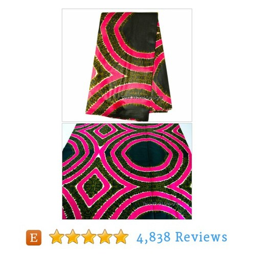 African Fabric made in Africa/ Ankara #etsy @designstess  #etsy #PromoteEtsy #PictureVideo @SharePicVideo