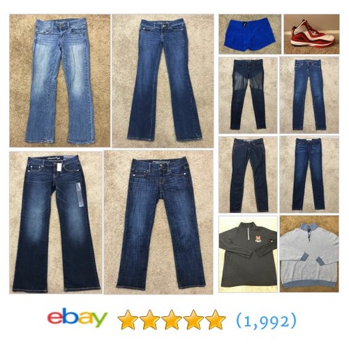All Categories Items in 412 Used Clothing Outlet store #ebay @jnkseller  #ebay #PromoteEbay #PictureVideo @SharePicVideo