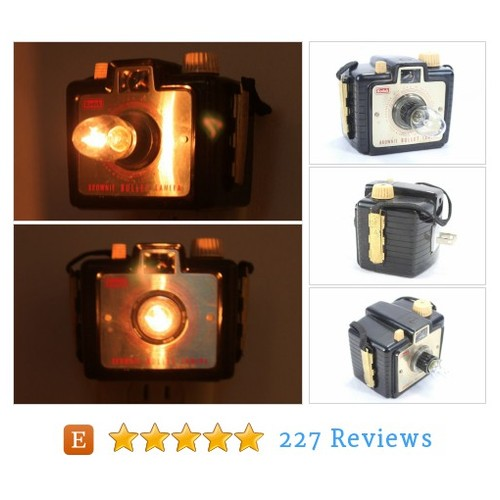 Old-fashioned Whimsical Nightlight - Kodak #etsy @lightandtimeart  #etsy #PromoteEtsy #PictureVideo @SharePicVideo