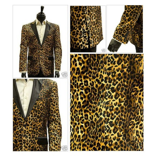 Angelino Men Leopard Cheetah Pattern Tuxedo Dress Casual Party @shopbigtime  #shopify #PromoteStore #PictureVideo @SharePicVideo