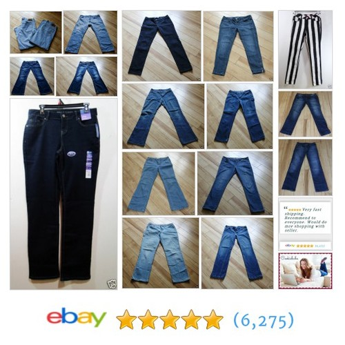 cookiebabe | eBay Jeans in all sizes for men and women! Great prices! Silver, Levis, Ralph Lauren and more! #ebay #PromoteEbay #PictureVideo @SharePicVideo