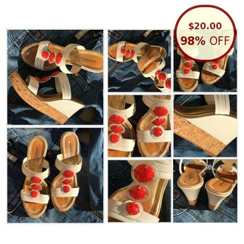 Antonio Melani Cork Wedge Sandal @diamngirl https://www.SharePicVideo.com/?ref=PostPicVideoToTwitter-diamngirl #socialselling #PromoteStore #PictureVideo @SharePicVideo