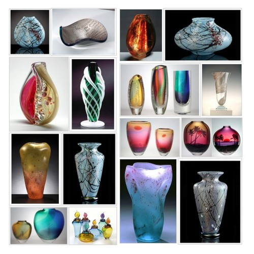Glass Vases & Vessels @eclipsegallery  #shopify #PromoteStore #PictureVideo @SharePicVideo