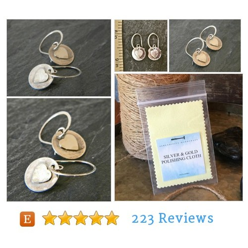 Sterling Silver Dangle Earring - Silver #etsy @@serendipityhandcraft  #etsy #PromoteEtsy #PictureVideo @SharePicVideo