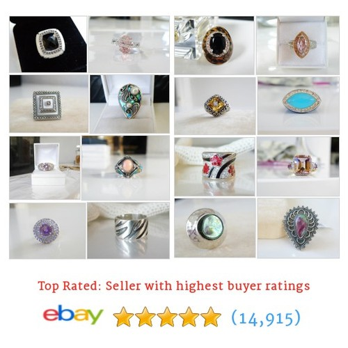 Sterling Silver Rings Great deals from 925SterlingLane #ebay @925sterlinglane  #ebay #PromoteEbay #PictureVideo @SharePicVideo