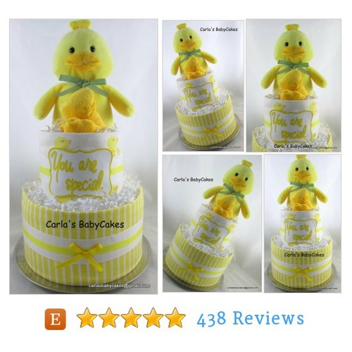 Duck diaper cake | Neutral diaper cake | #etsy @mysoulspeace  #etsy #PromoteEtsy #PictureVideo @SharePicVideo