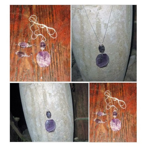 Amethyst multi beaded octagon gemstone @real4rebel #shopify  #shopify #PromoteStore #PictureVideo @SharePicVideo